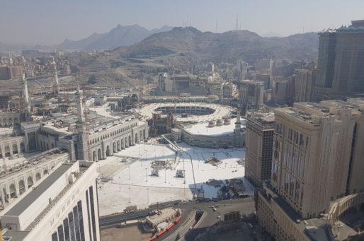 تعلن شركة جبل عمر للتطوير أنها حصلت على موافقة هيئة تطوير منطقة مكة المكرمة على زيادة المسطحات البنائية الإستثمارية لمشروع جبل عمر في مكة المكرمة Jodc